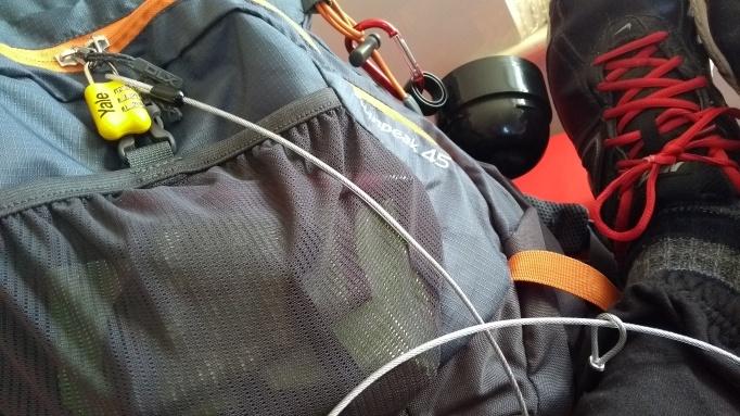 Lock bag, Tie to Ankle when zzzzzz