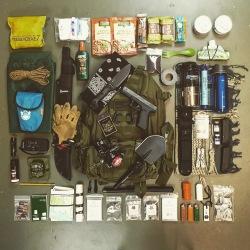 rucksack contents